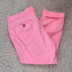 Old Navy Hot Pink Cotton Ankle Pants Size 12
